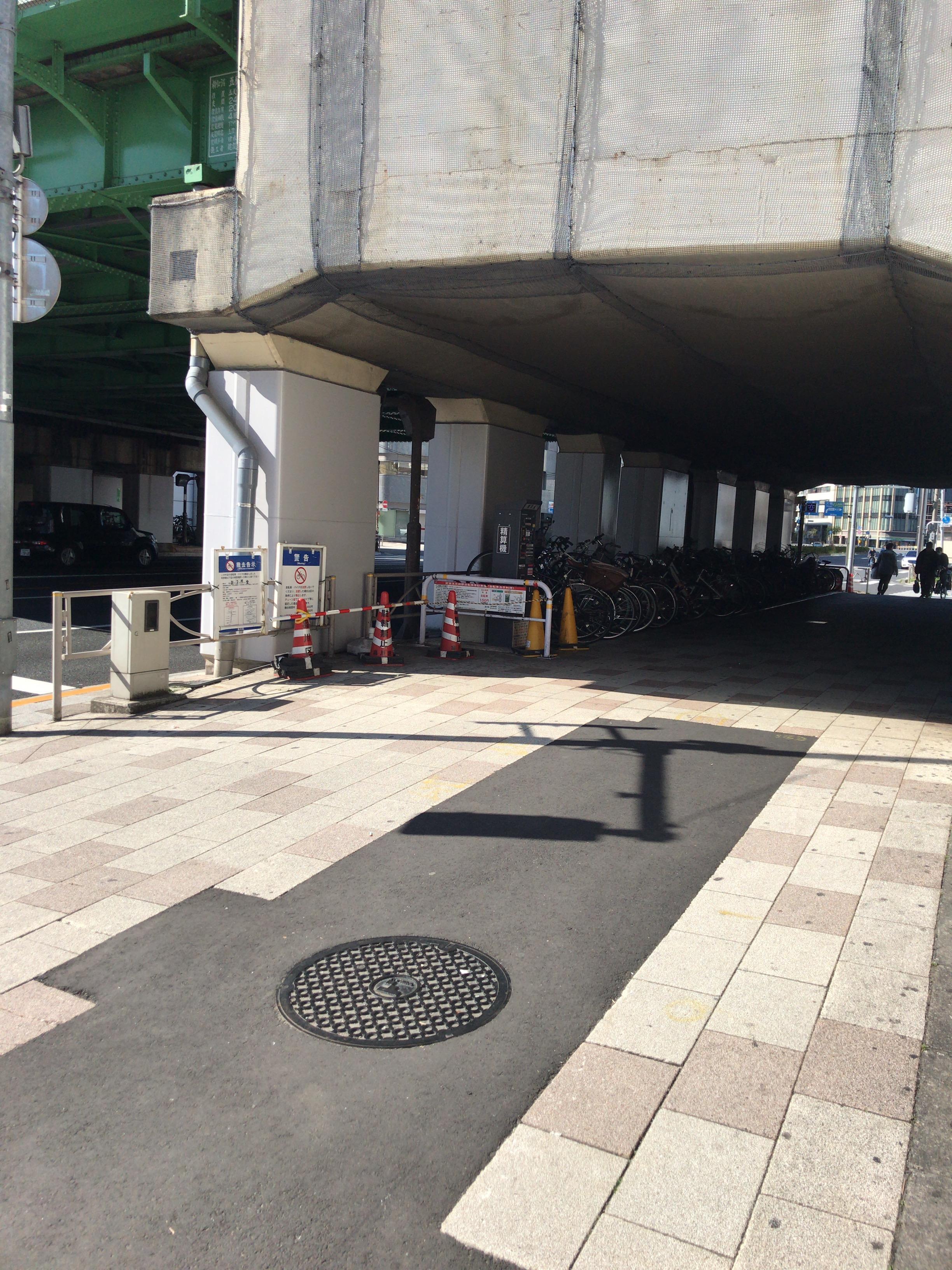五反田駅 区営駐輪場画像