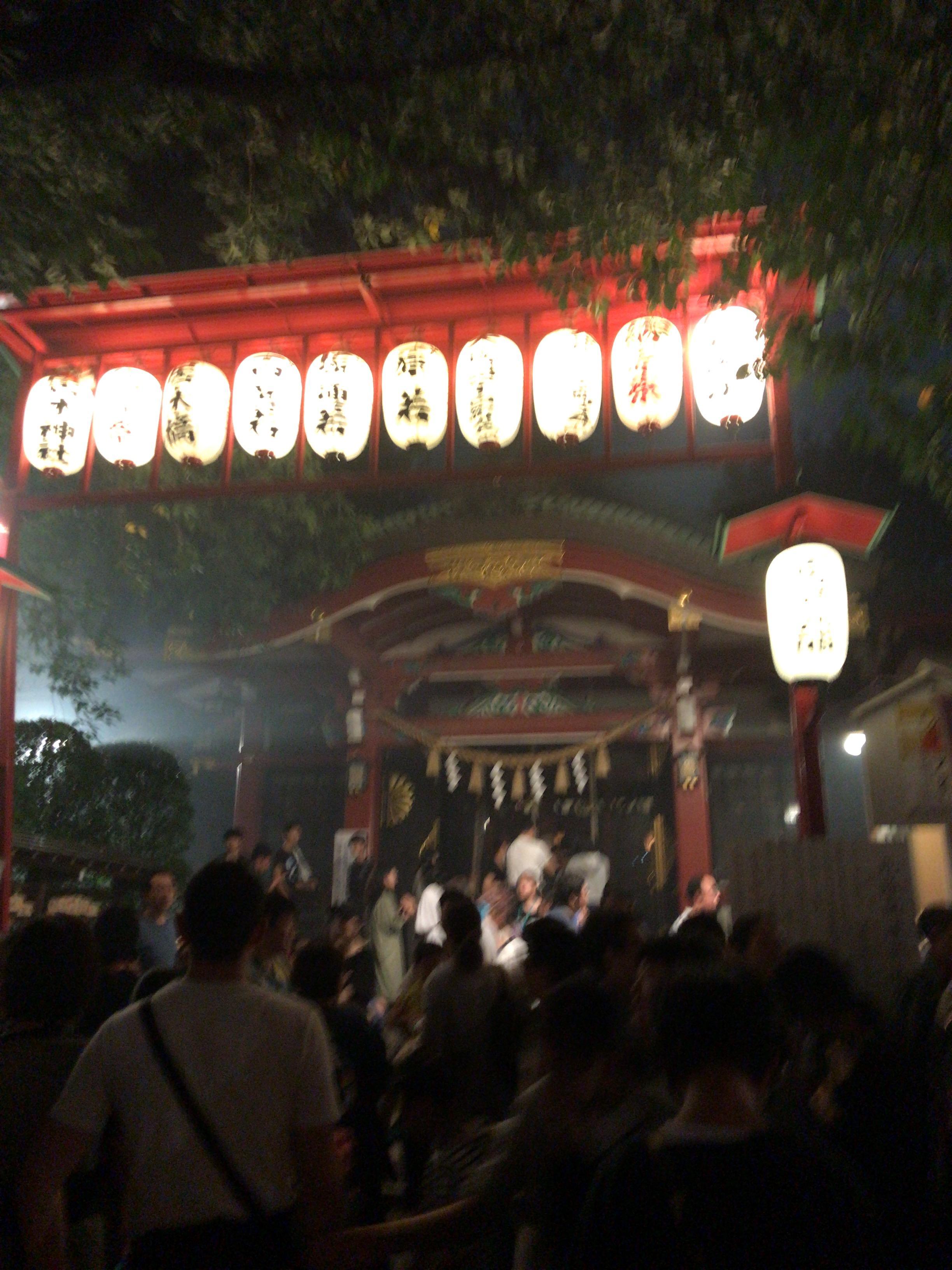 居木神社 納涼祭画像