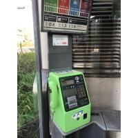 都営浅草線出口(A5)の電話ボックス