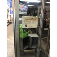 高砂ビル前の電話ボックス